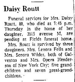 Daisy-Routt-Obituary