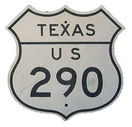 Texas US 290