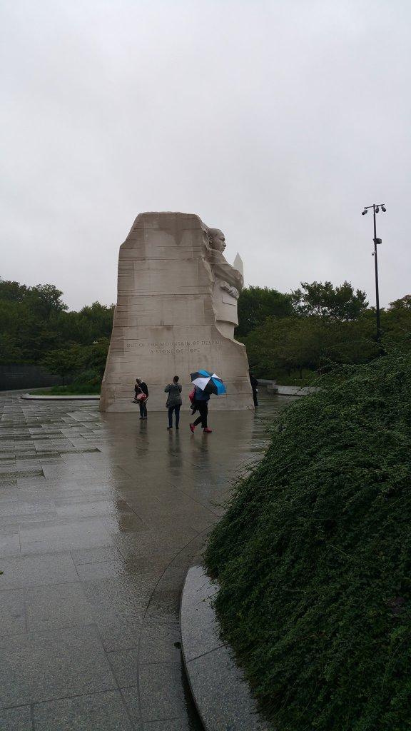 Martin Luther King, Jr. Memorial Entrance